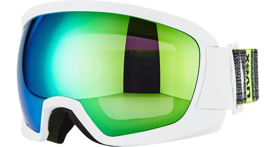 UVEX Contest FM - Gafas de esquí - blanco/negro